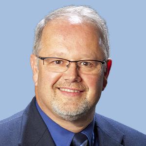 Photo of Sonny Hoskinson, R.Ph., director of Pharmacy at United Hospital Center.